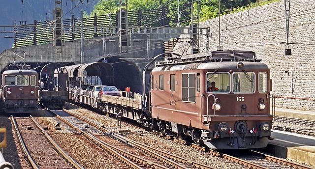 staré vlaky
