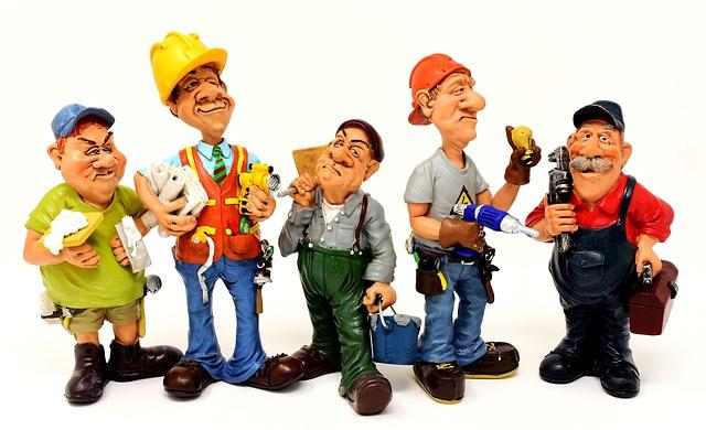 pět řemeslníků