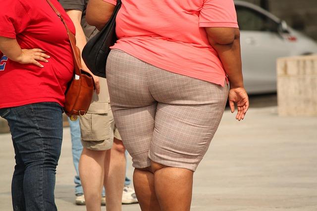 tlustá žena