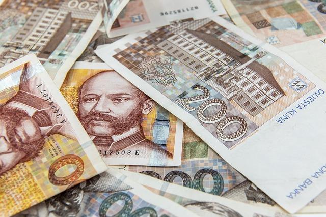 chorvatské bankovky