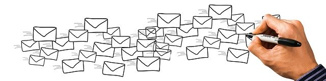 obálky a zásilky